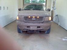 hittin the mud