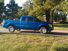 before leveling kit