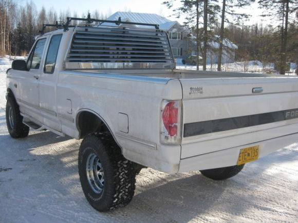 """with 3"""" body lift and 33""""s"""