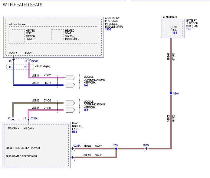 Accessory protocol interface module | APIM replacement    location