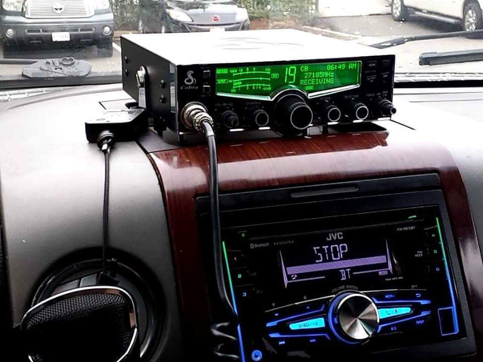Cb Radio Mounting Places - Page 2
