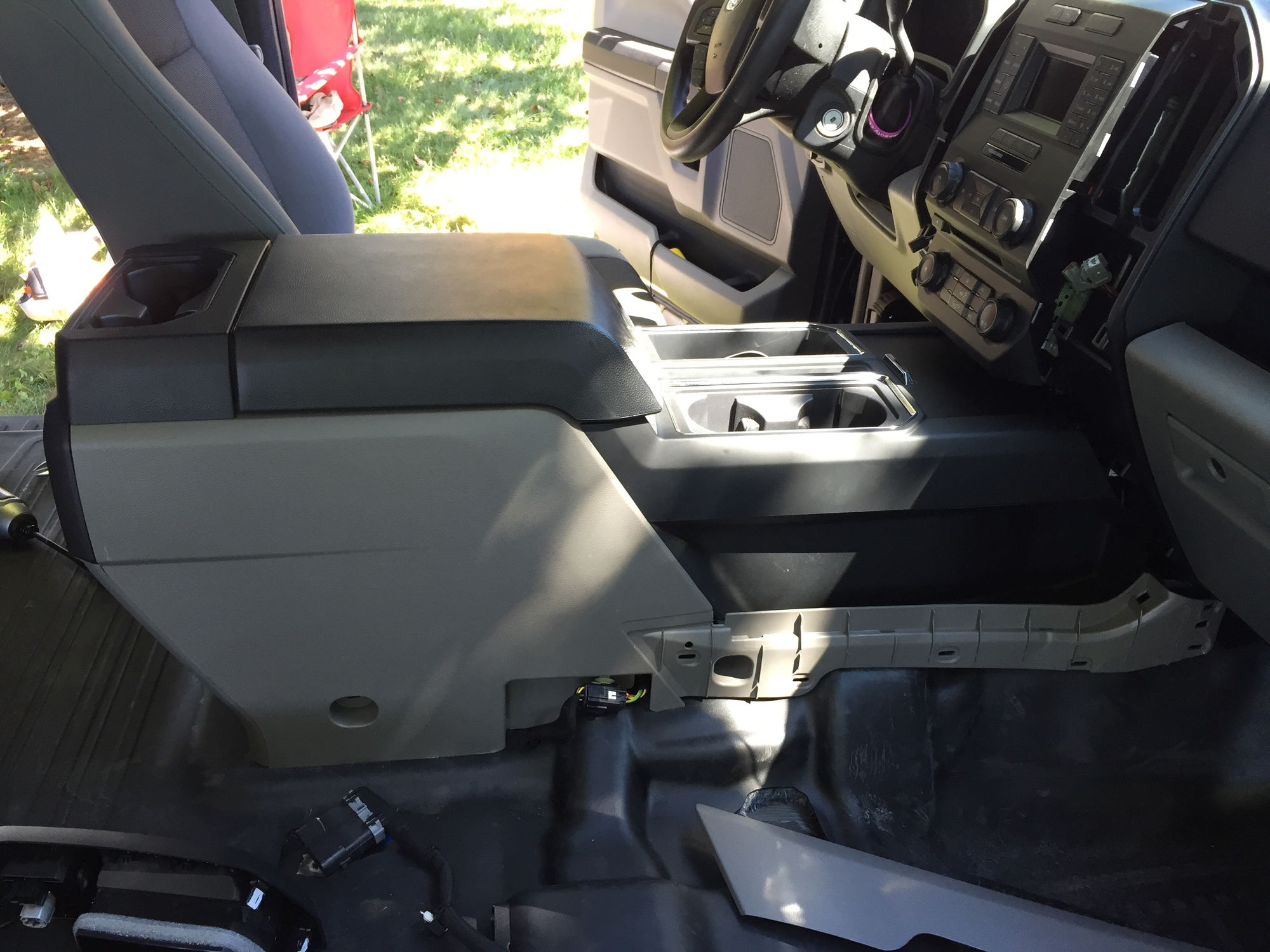 Jump seat to console swap f150online forums for 05 f150 door panel removal