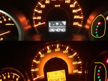 That indicator on P Shiftknob on P but in jdm cluster(bottom) lights off