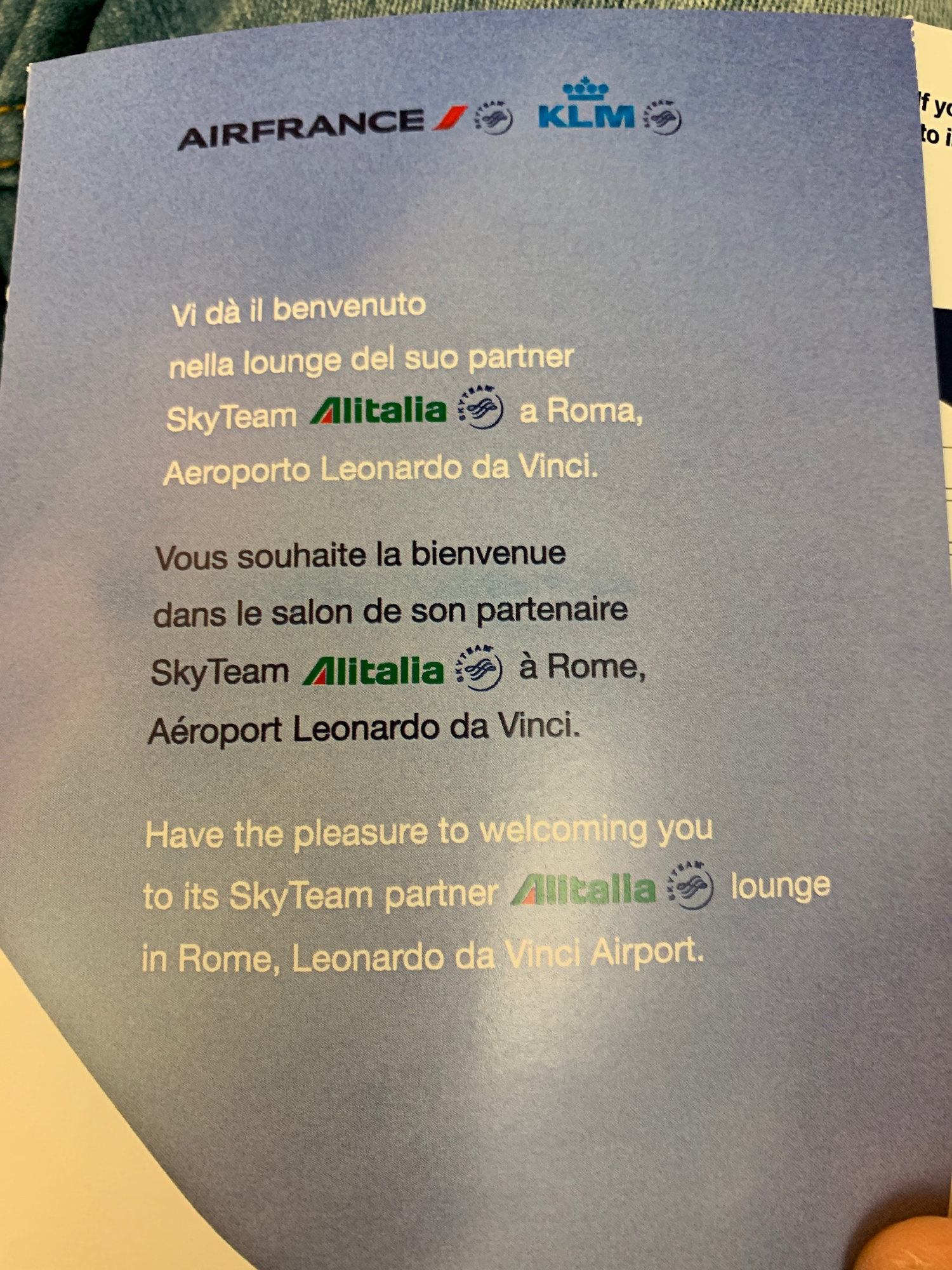 Casa Dolce Casa Roma air france lounges and contract lounges master thread - page