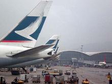 Cathay Pacific Tails - Hong Kong