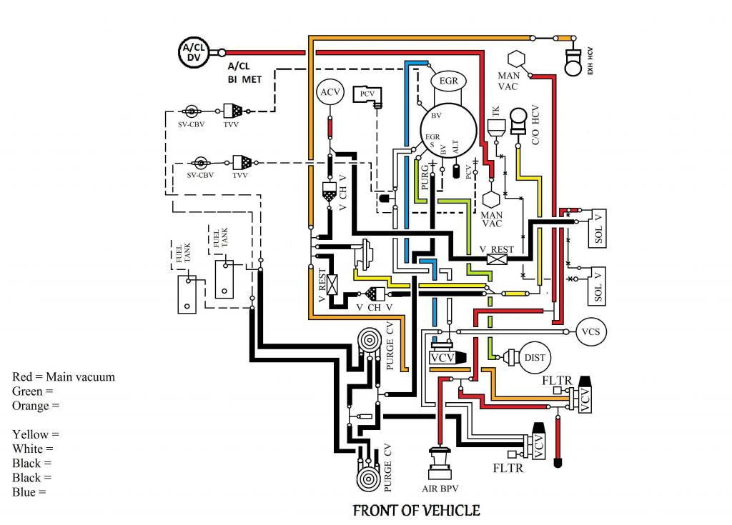 ford truck vacuum diagram toyota truck vacuum diagram