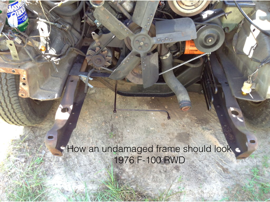 Re-building a wrecked F-150: bent frame - Ford Truck Enthusiasts Forums