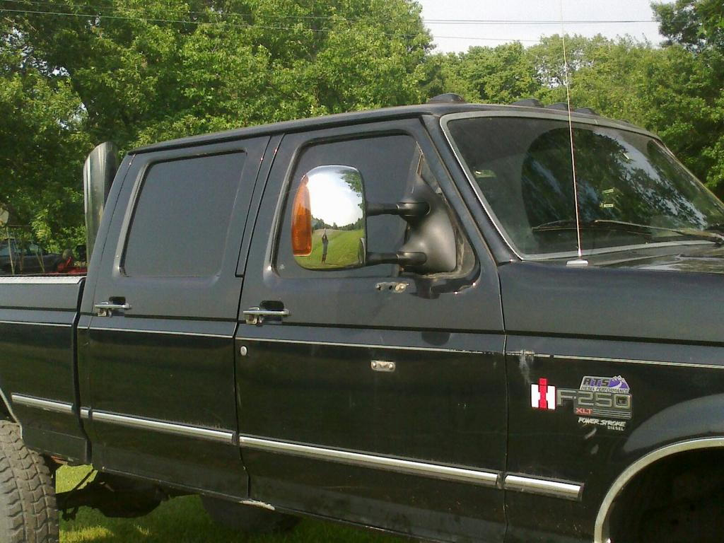 Sd tow mirrors with heat and signals on my 96 ps ford truck enthusiasts forums