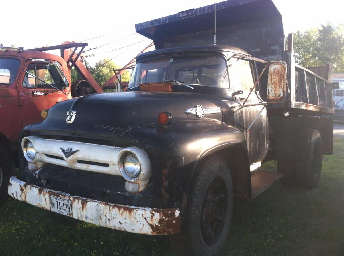 A few i saw for sale on my local craigslist 1956 dump truck