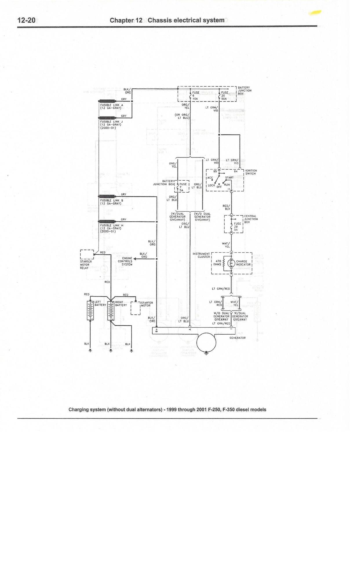 wiring diagram 2001 ford excursion diesel complete excursion wiring diagrams ... so far - ford truck ... #5