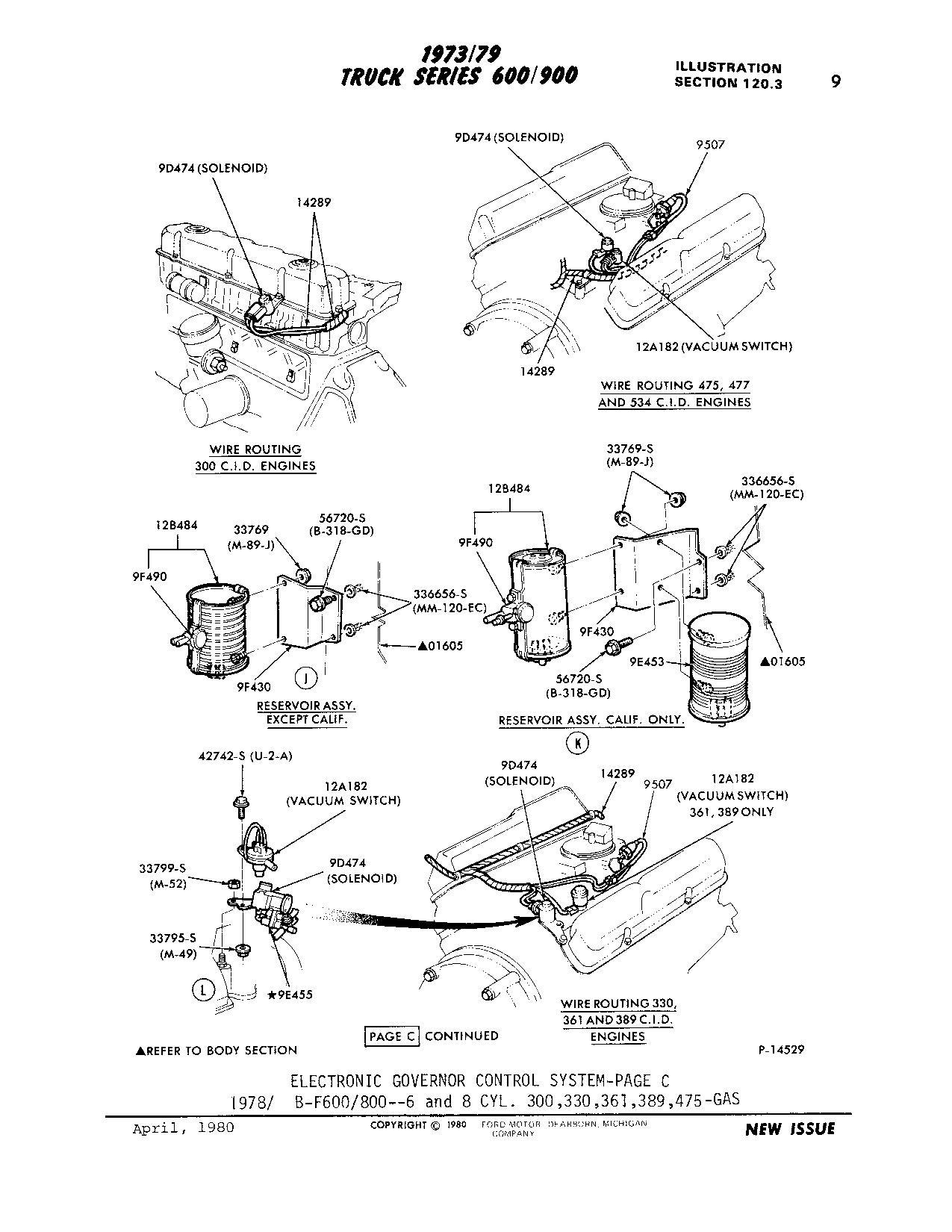 ford 5 8 engine vacuum diagram 1980