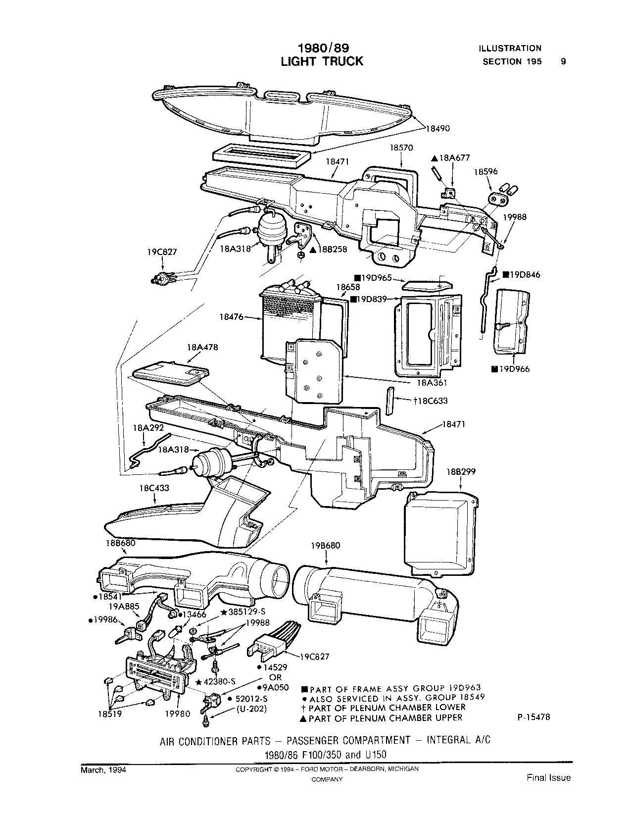 1983 f150 5 8l heating core