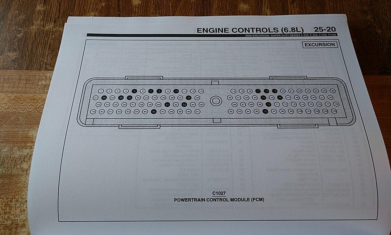 2000 Ford Excursion 6 8l V10 Pcm Wiring Diagram