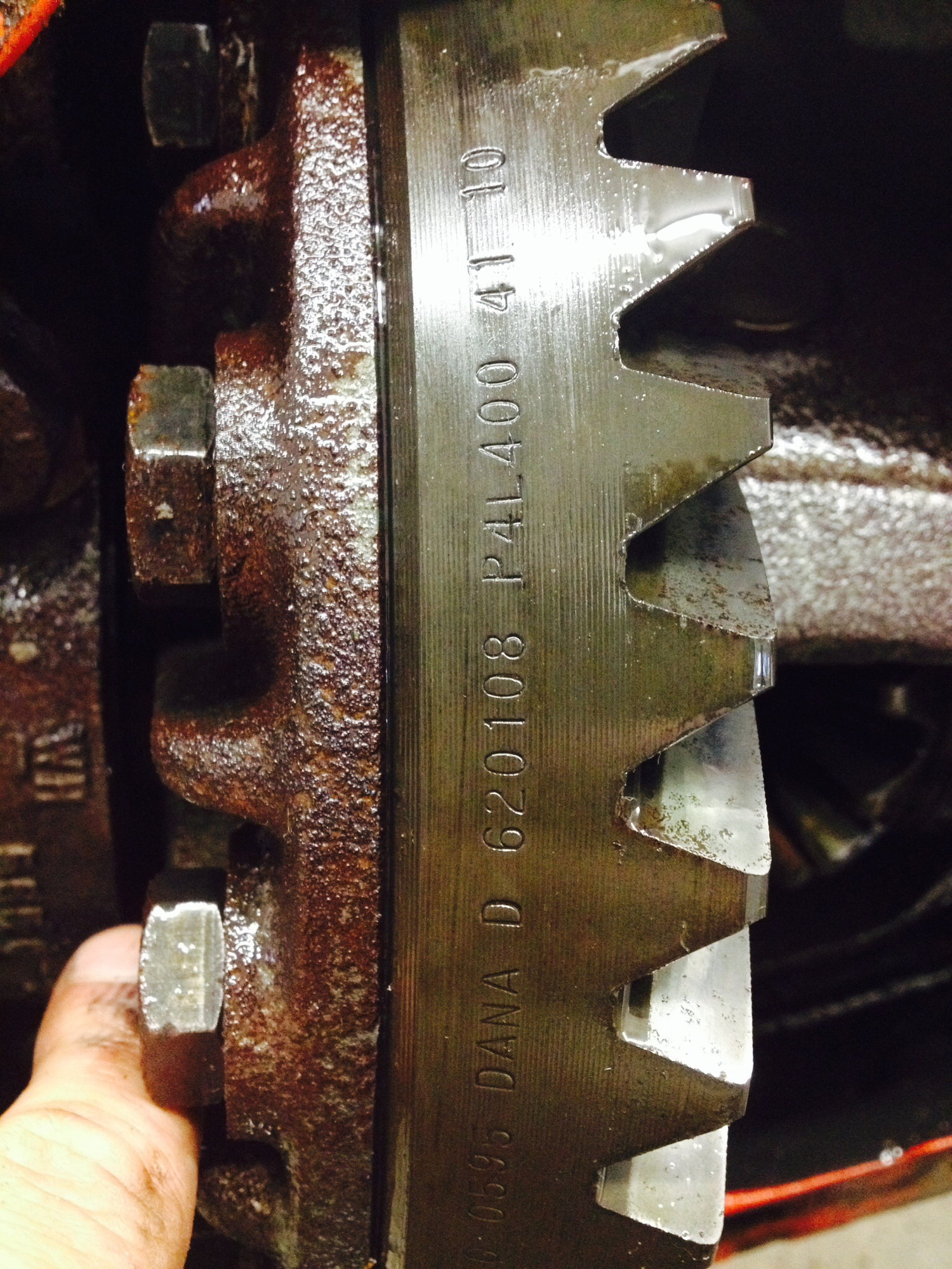 VIN number decode for Gear ratio???? - Ford Truck