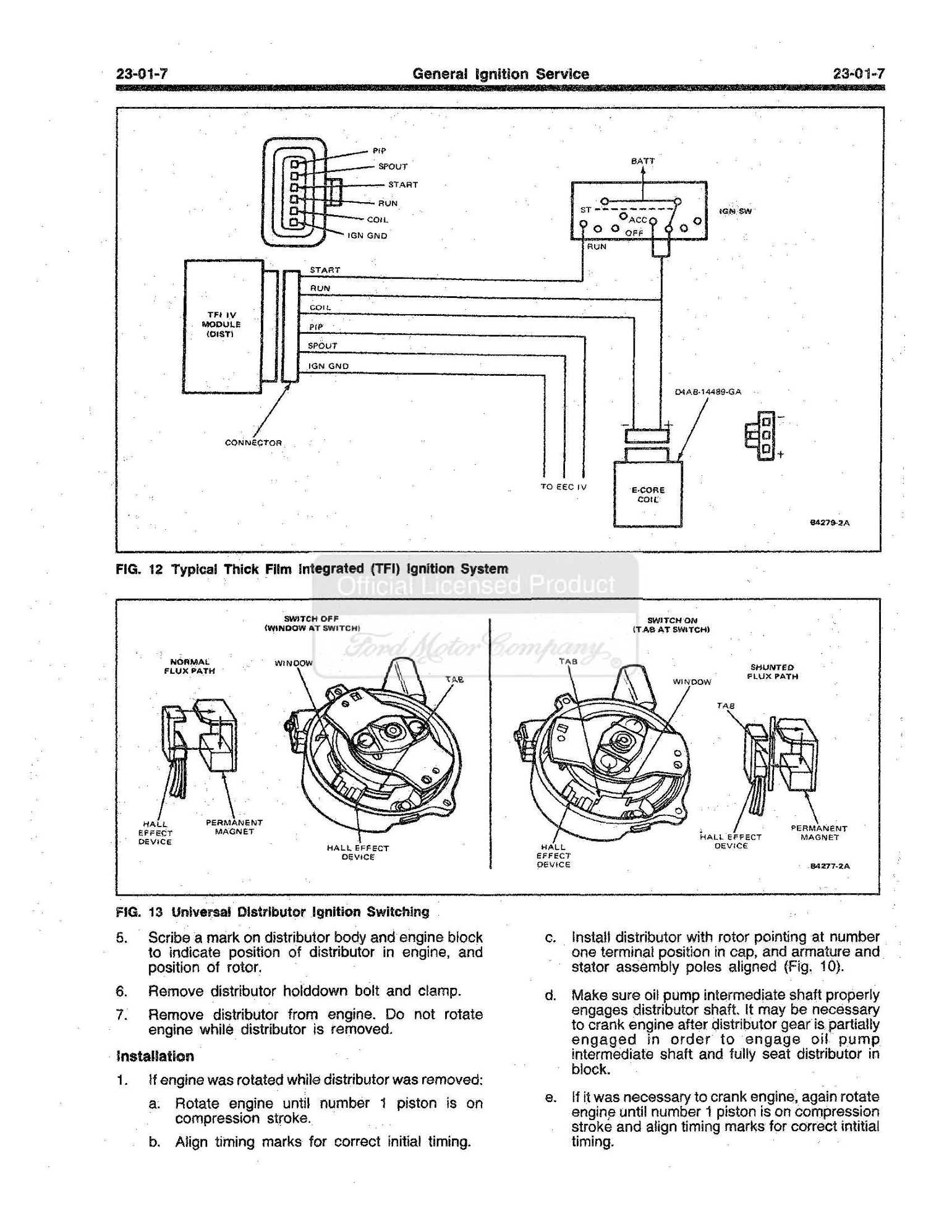 wiring advice please 1986 F-150 300 six - Ford Truck ...