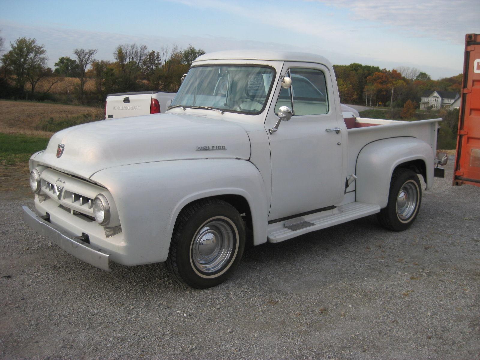 1953 f100 paint code help