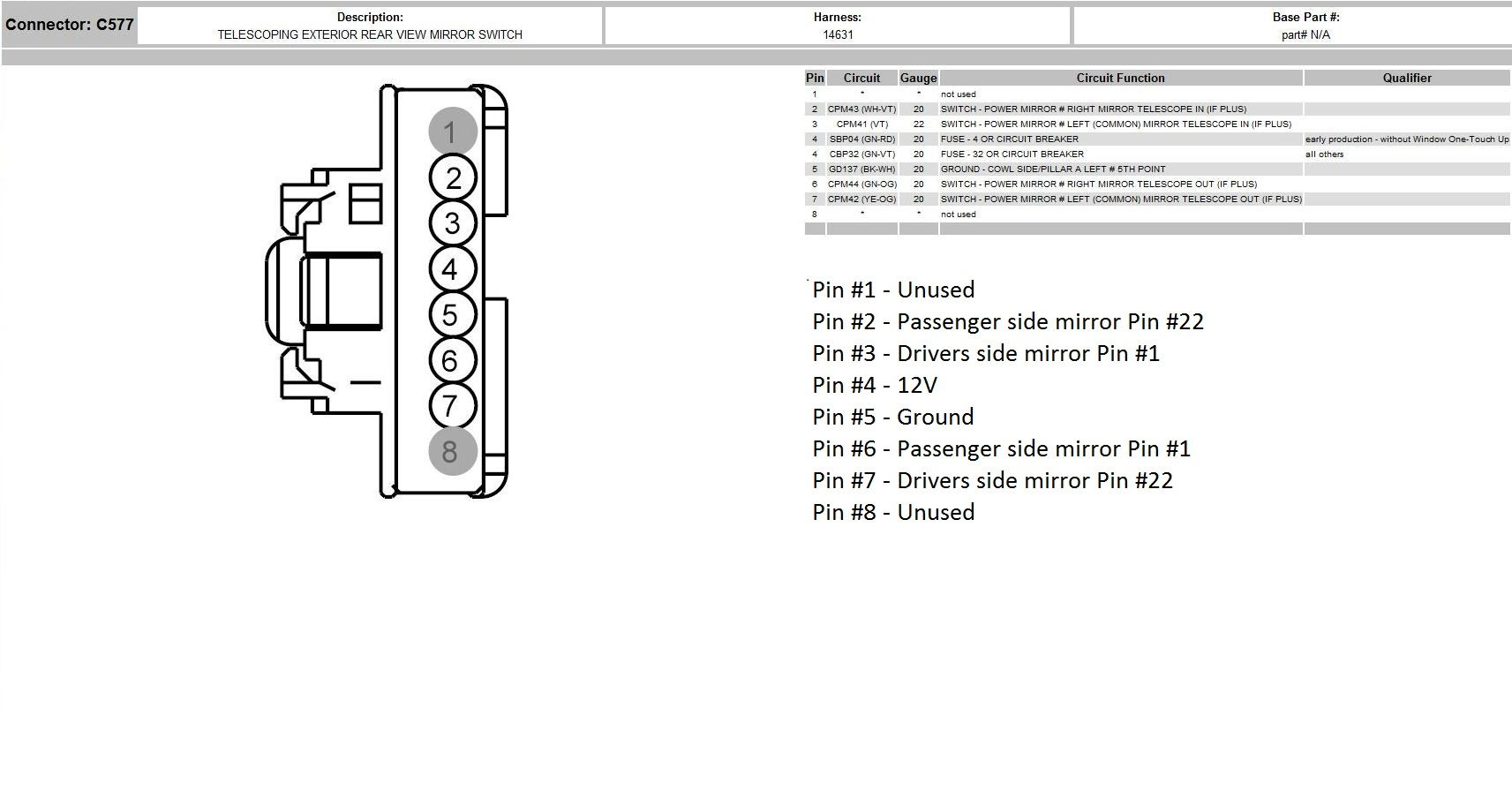 80 2012extendswitch_c784af949b523f7d4395d20c3041acc02b3de189 08 mirrors wiring up pf pt using stock parts ford truck ford f150 rear view mirror wiring diagram at crackthecode.co