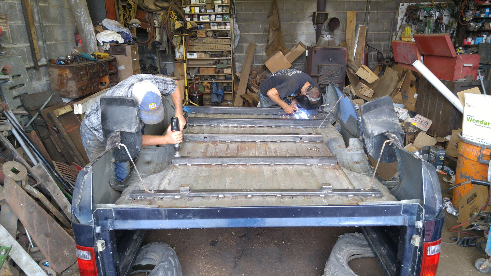 Rusted Longbed Support Sills Ford Truck Enthusiasts Forums
