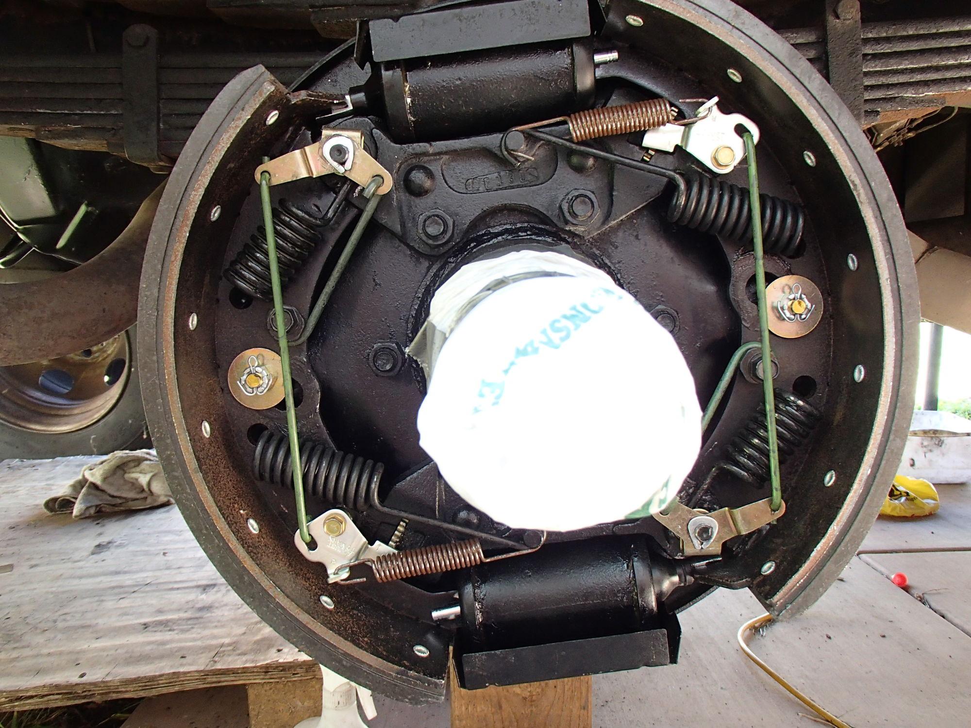 Ford Truck Brake System : G f hydrovac brake question self