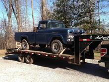 1960 F100 4x4