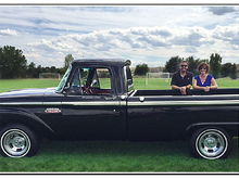 1965 Ford F100 (Raven) Windsor Car Show 2015