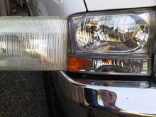 '02 headlight swap