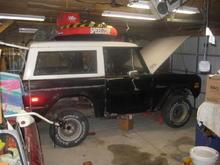 71 Bronco restore 039