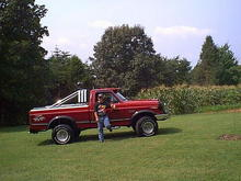 The Big Red Brute & Me in 2000