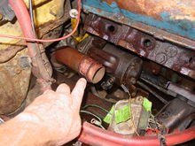 This where my exhaust noise was coming from. A pipe in a pipe. With a baby sized gasket ring.