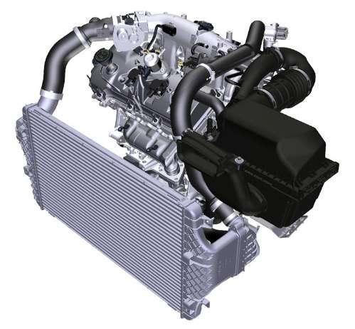 3.5L Ecoboost Engine Diagram/CAD Data/3D Model - Ford ...