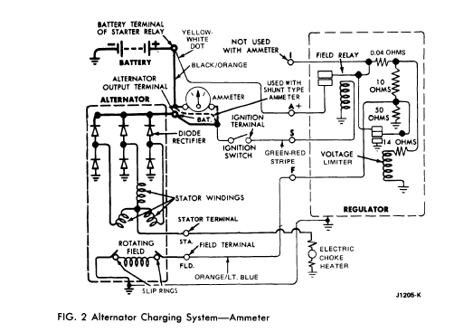 alternator wiring issues  blown fuse  ford truck Ford Fuse Box Diagram