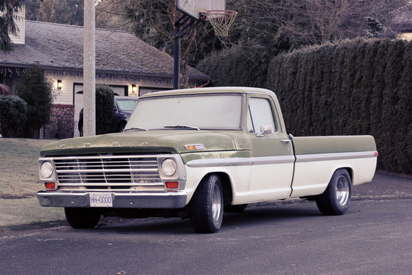 1969 Ford F100 Frosty Morning