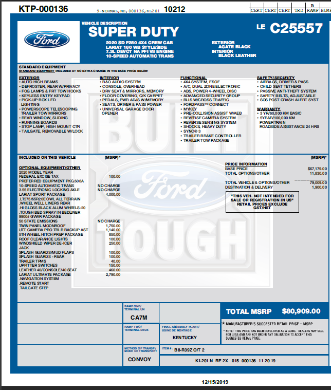 Who Has Taken Delivery Of Their 2020 Super Duty Page 28 Ford Truck Enthusiasts Forums