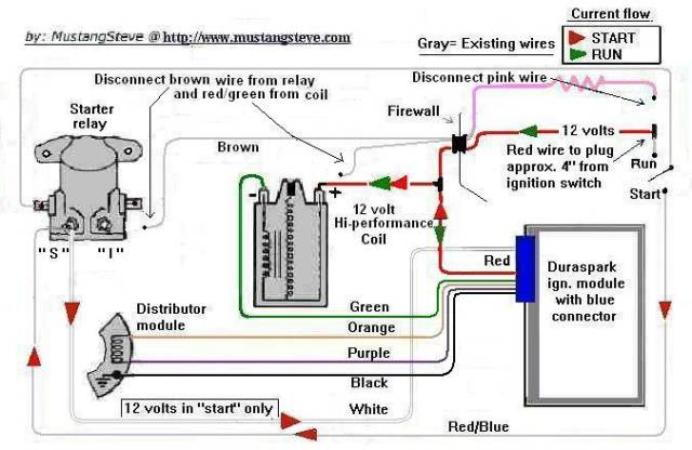 duraspark 2 conversion wiring and troublshooting ? ford duraspark 2 wiring diagram duraspark wiring schematic #1