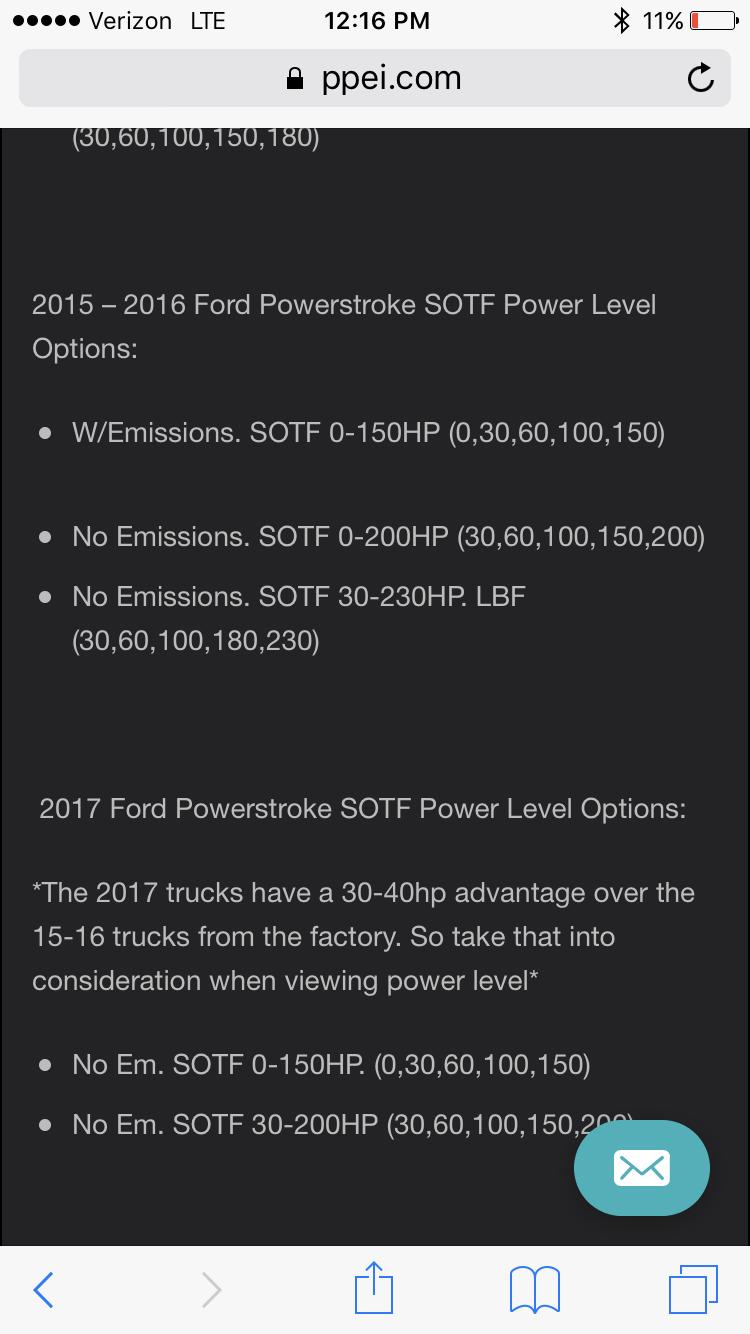 SOTF switch help, EZ-Lynk PPEI tunes - Ford Truck