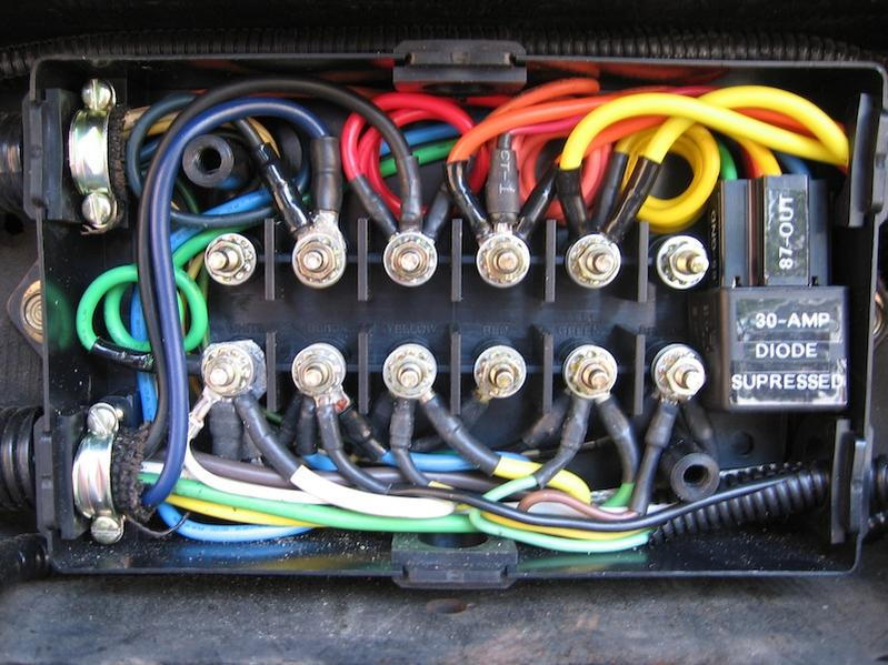 99 F550 trailer wiring question - Ford Truck Enthusiasts Forums