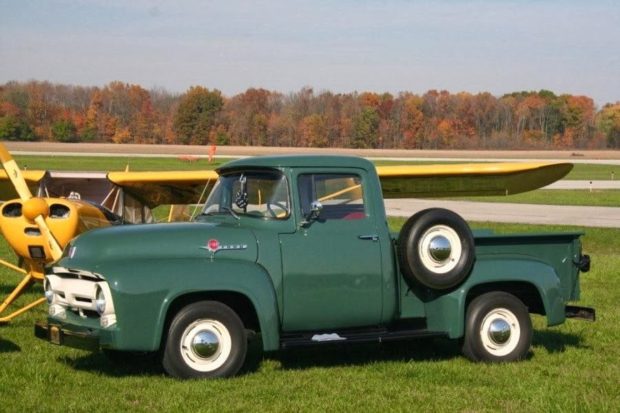 1951 F1 Meadow Green Paint Question Ford Truck