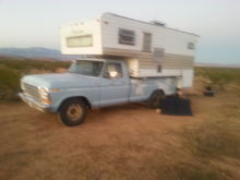 Bryans 79 f250 and camper