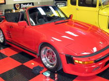 1986 Porsche 911 SC Cabriolet with Turbo