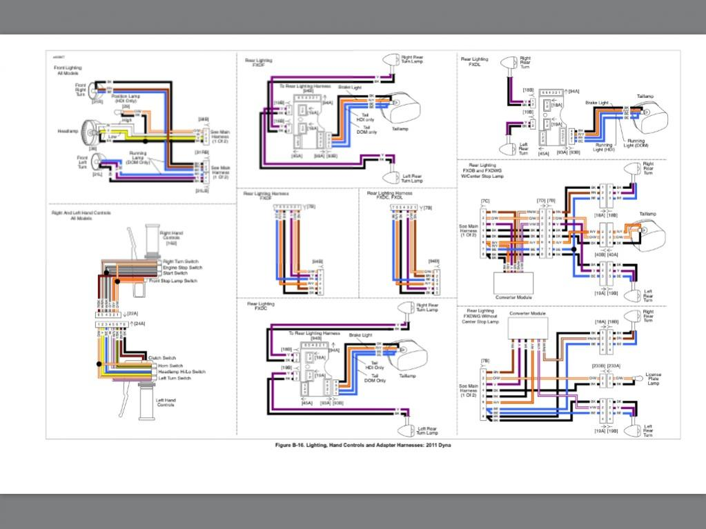 Harley Davidson 2005 Dyna Super Glide Wiring Diagram ... on