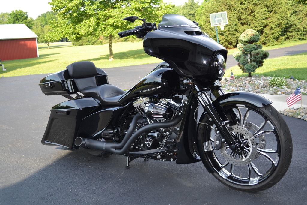 2014 Street Glide One Off Custom W 23 Quot Wheel Harley