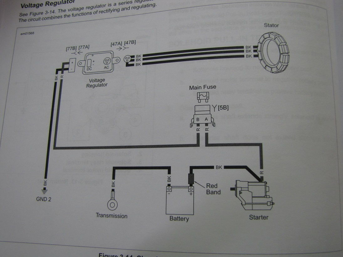 voltage regulator smoke