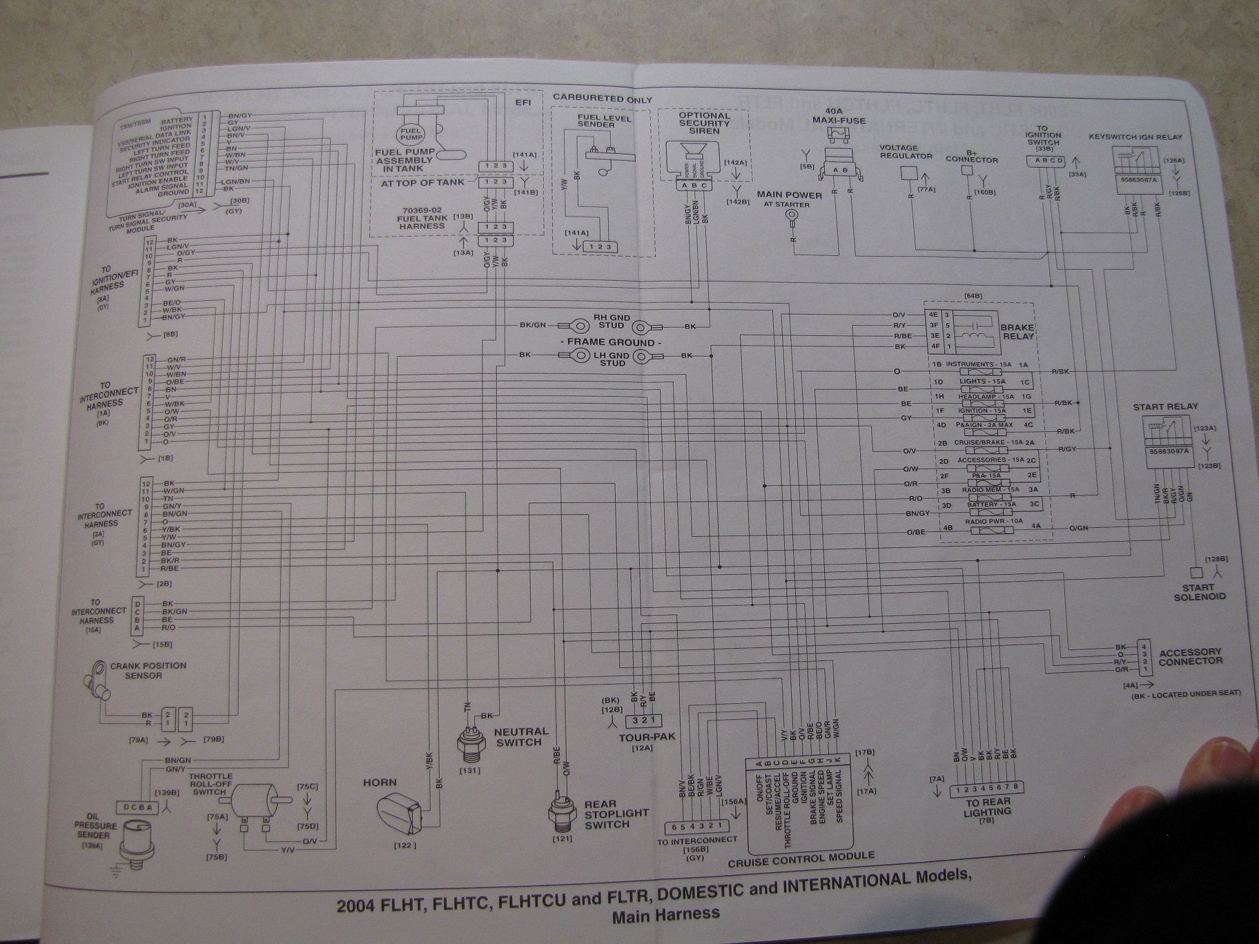 Harley Electra Glide Heated Grips Wiring Diagram Explained Installing Ignition Wire Question