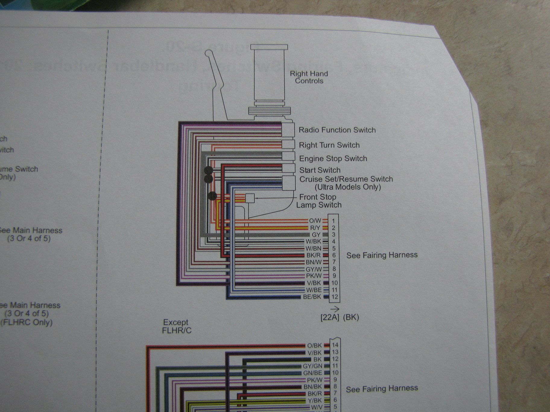 Wiring Diagram 2013 Street Glide - Harley Davidson Forums