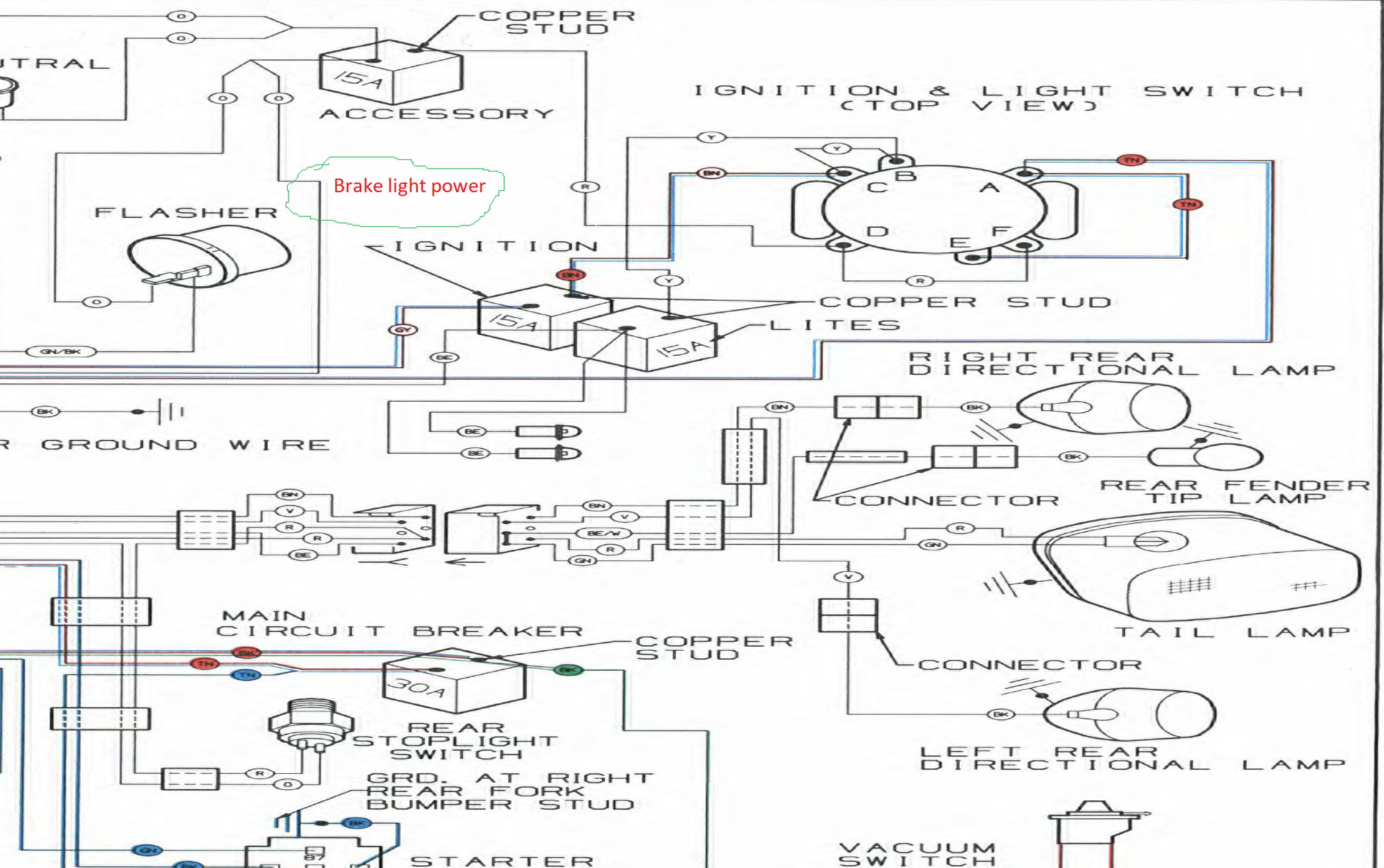 1999 softail wiring diagram 1990 softail wiring diagram wiring diagrams dat  1990 softail wiring diagram wiring