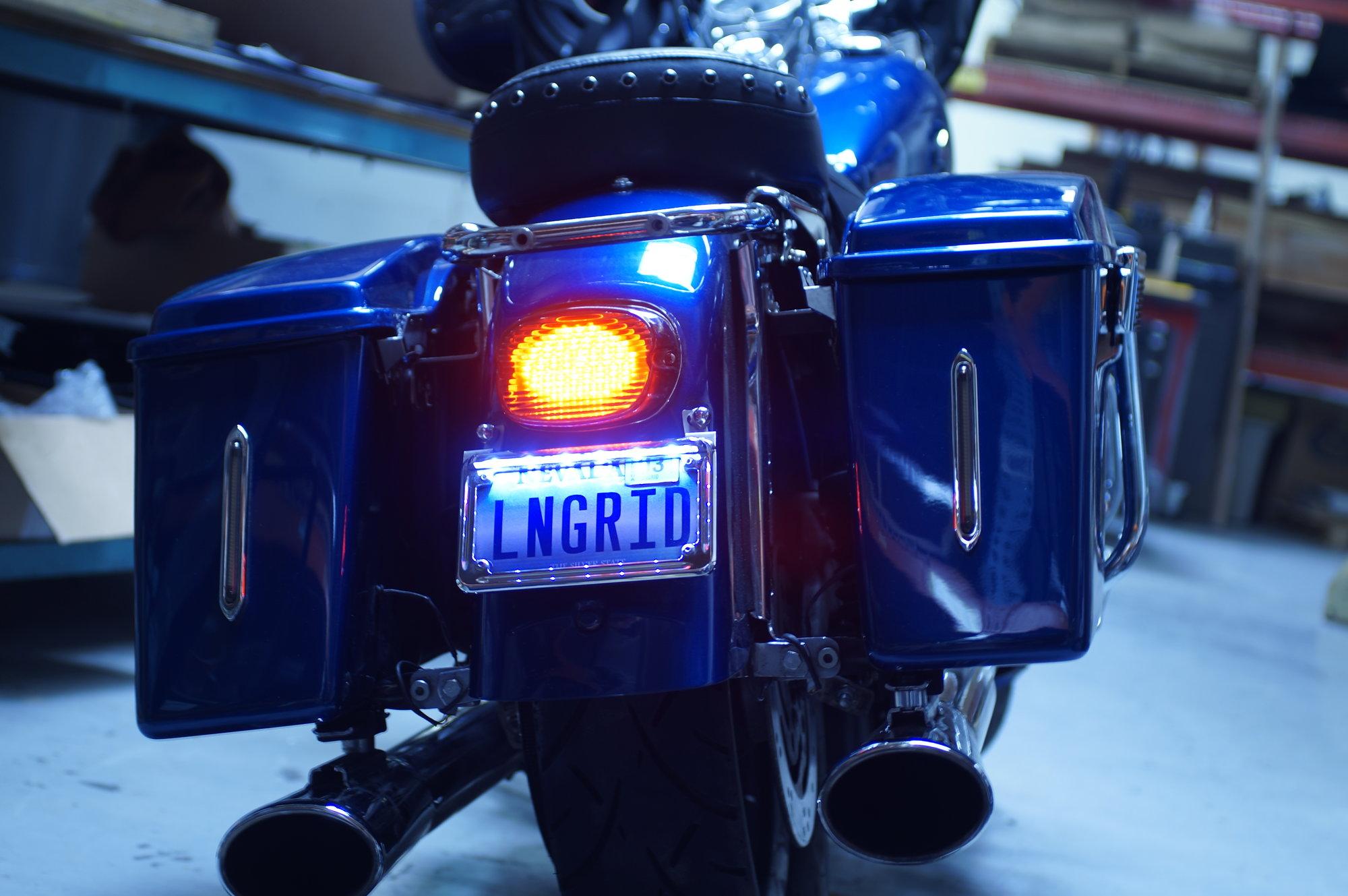 Road King Rear Light Bar Swap
