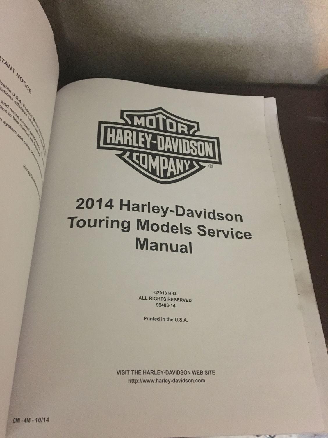 2014 touring service manual harley davidson forums rh hdforums com harley davidson 2014 touring models service manual.pdf Harley-Davidson Touring Bikes