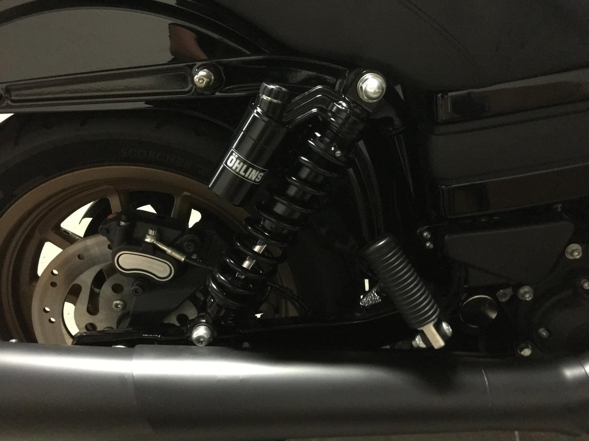 New shocks! - Harley Davidson Forums