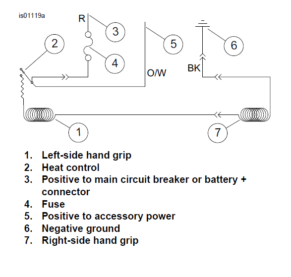 harley heated grips wiring diagram accessories wire - harley davidson forums