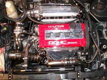 new motor, 2.4 gt35r methenol, 35psi work n progress